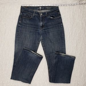 7 For All Mankind Highwaist Bootcut Jeans